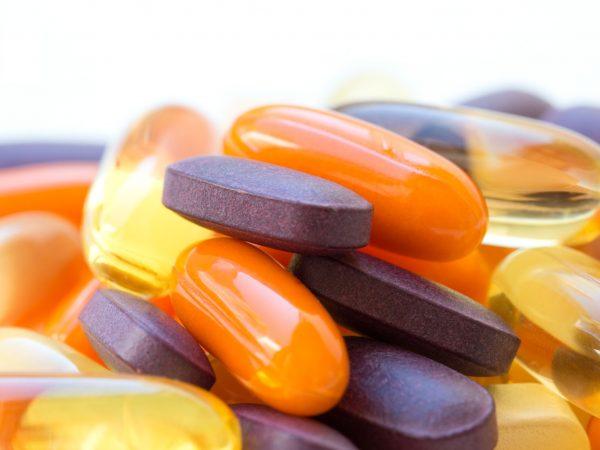 Vitaminas y suplementos saludables