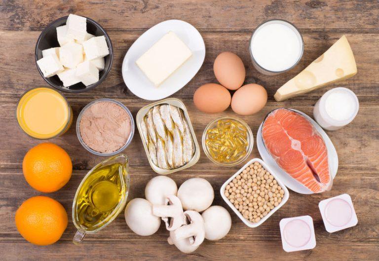 Comida rica en vitamina D