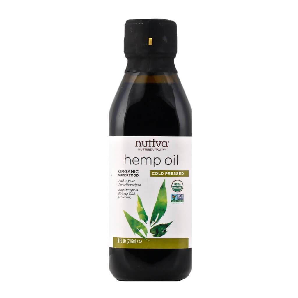 Aceite de cáñamo orgánico Nutiva