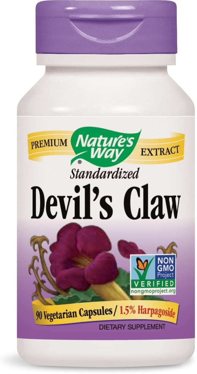 Nature 's Way Devil' s Claw Root, 90 Cápsulas
