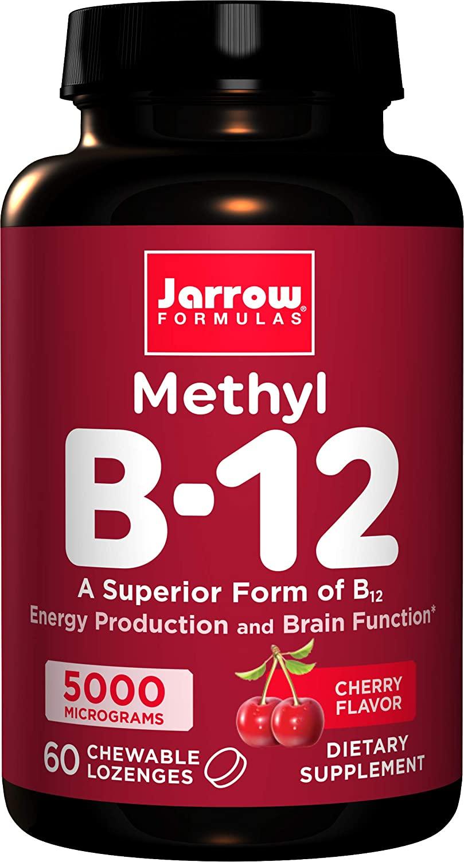 Metil B12 1 de Jarrow Formulas , B5000, 1, 1