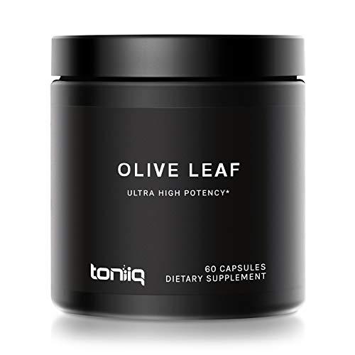 22 cápsulas potentes de hoja de olivo ultra alta resistencia – 40% oleeuína – 22.000 mg equivalente a polvo crudo – el suplemento de hojas de olivo más fuerte disponible