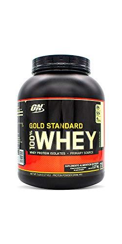 Optimum Nutrition Gold Standard 100% Whey, Sabor Vainilla, 5 Libras