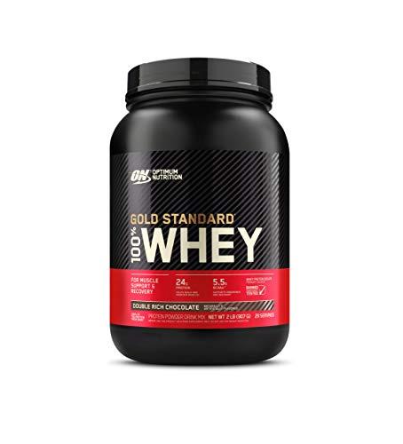 Optimum Nutrition Gold Standard 100% Whey, Sabor Chocolate, 2 Libras