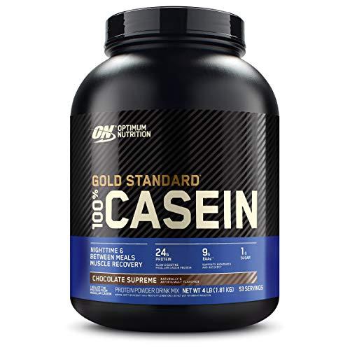 Optimum Nutrition 100% Casein Protein, Chocolate, 4 lb, 53 porciones