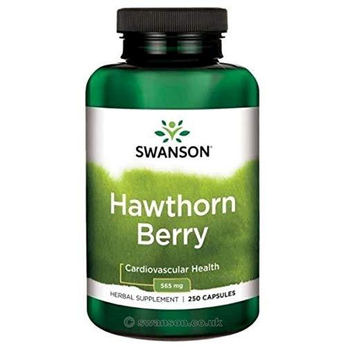 Bayas de Espino   Swanson   Suplemento   565 mg   250 Cápsulas
