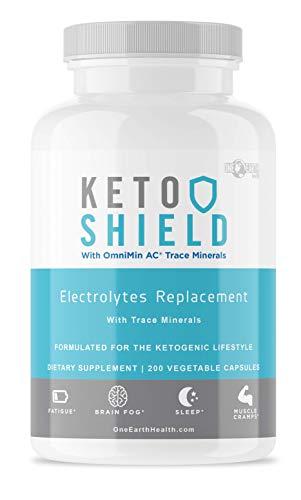 Keto Diet Electrolyte Suplemento (200 unidades) - Keto Vitamins Electrolyte Capsules Maxed Out con Magnesio, Sodio, Calcio, Potasio y oligominerales. Fórmula avanzada.