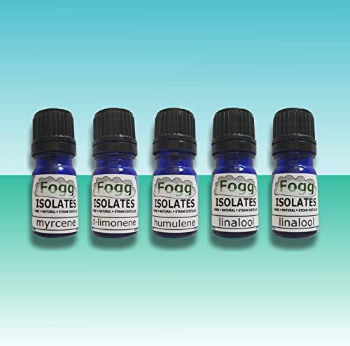 FOGG Isolates - Colección Primary | Terpenos puros | Natural | Orgánico (5 ml)