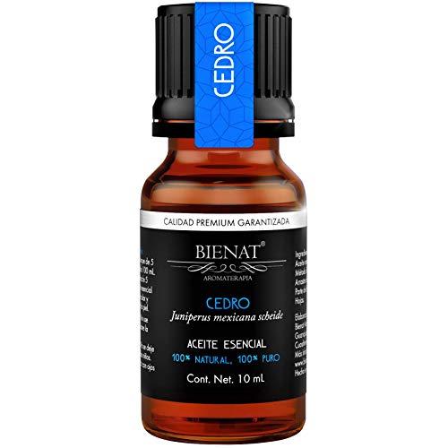 BIENAT AROMATERAPIA Aceite Esencial de Cedro 10mL