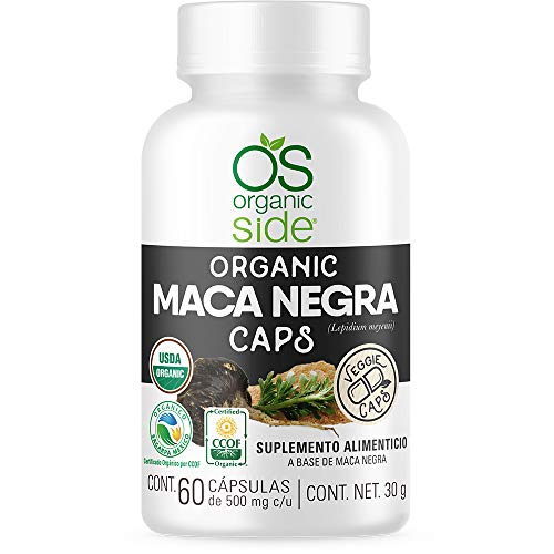 MACA NEGRA ORGÁNICA - 60 CAPSULAS - USDA