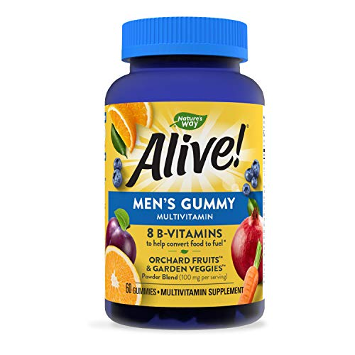 Alive Multivitamin Gummy Vitamins tablets, 60 Count