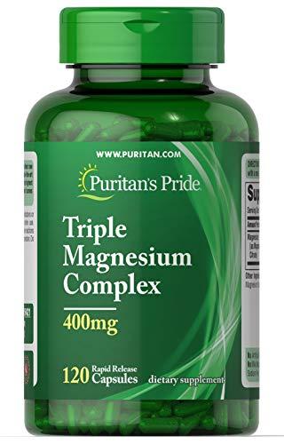 Complejo de triple magnesio 400 mg 120 caps - Americano